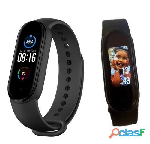Smartband m5 smartwatch relógio inteligente app fitpro