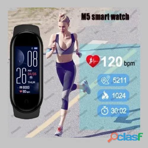 Smartband M5 Smartwatch Relógio Inteligente App Fitpro 4