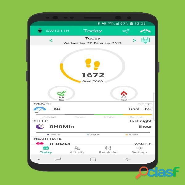 Smartband M5 Smartwatch Relógio Inteligente App Fitpro 5