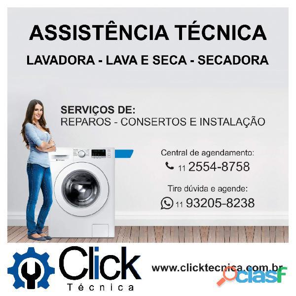 Assistência técnica para lavadora de roupas