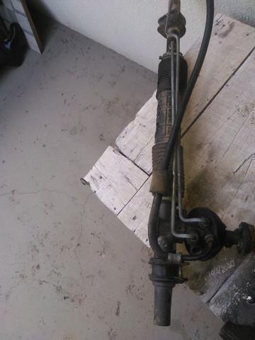 Caixa de direçao hidraulica e bomba hidraulica com polia