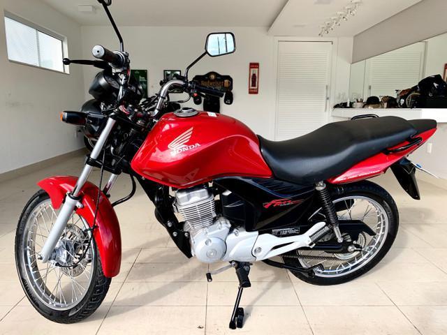 Honda cg 150 fan esdi 2013 completa