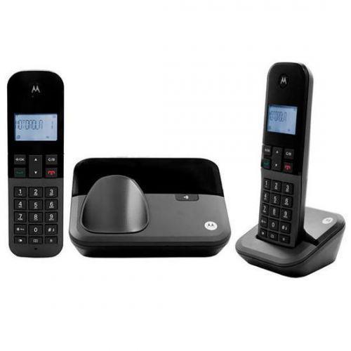 Telefone sem fio motorola m3000-2 dect 6.0 identificador