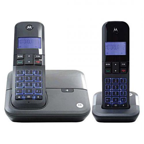 Telefone sem fio motorola m4000-2 dect 6.0 identificador