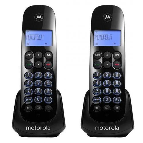 Telefone sem fio motorola m750-2 identificador chamada