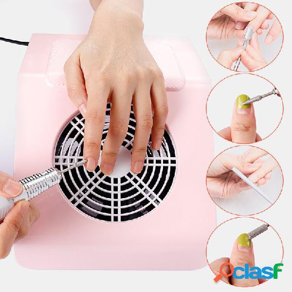 40w unhas ferramentas para máquinas de manicure e coletor de sucção de poeira que colecionam bolsa aspirador de pó