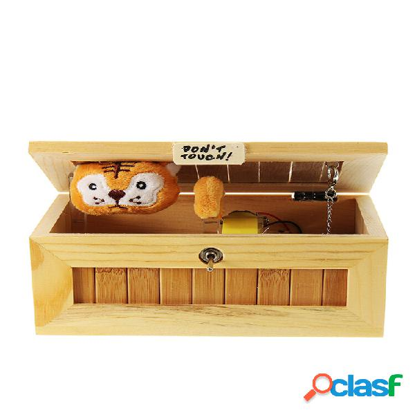 Preencher a caixa inútil cute tiger gimmicky fun geek gadget toy gift home office desk decor