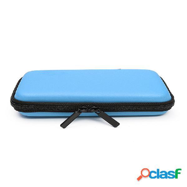 Bolsa de viagem impermeável caso para armazenamento bolsa para unidade usb flash