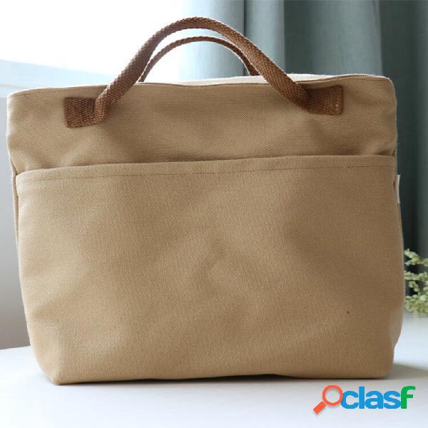 Kcasa kc-lg067 compras de armazenamento de lona de grande capacidade bolsa bolsa de viagem piquenique de viagem bolsa