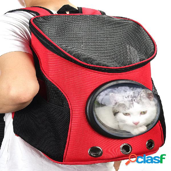 Astronauta, animal de estimação, cachorrinho, transportador respirável, viagem, bolsa, cápsula espacial, mochila, bolsa