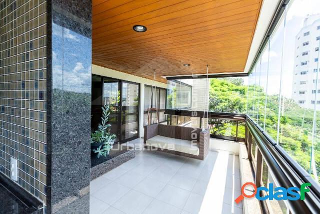Luxuoso apartamento com 4 suítes, edifício mansões bosque, 326m²