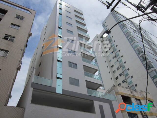 Apartamento 3 quartos de frente para rua - novo! 120m da praia