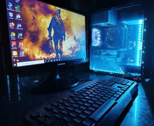 Computador gamer core i3 4ª ddr3 8gb hd 1tera