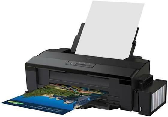 Impressora fotográfica epson l1800, tanque de tinta, a3+