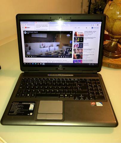 Notebook dual core 2.10 / 4g / 1tera - vendo - troco - passo