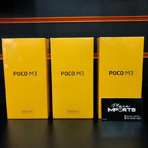 Xiaomi poco m3 128gb, loja física e entregamos em toda bh e