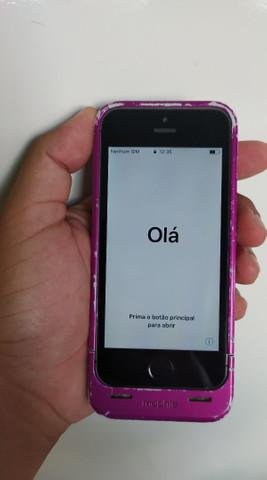 Iphone 5s (muito novo)