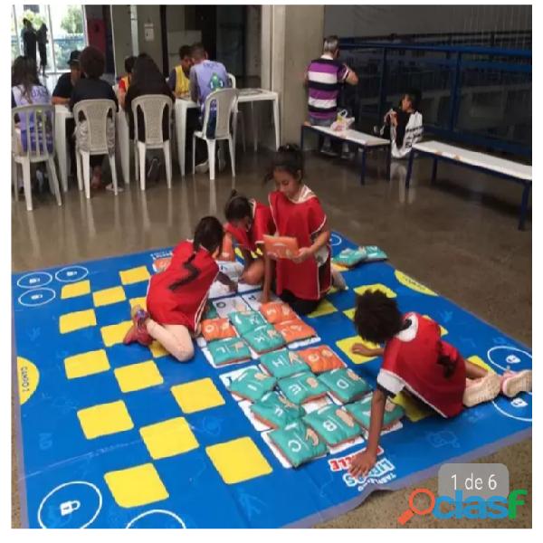 Tabuleiro de libras gigante educação infantil especial
