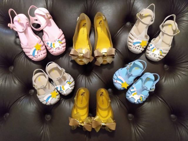 Lote calçados infantis novos (6 pares)