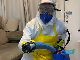 Limpeza e higienização de ambientes