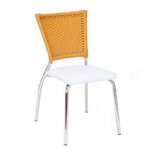 Cadeira de cozinha em alum/u00ednio alegro c115, branca e