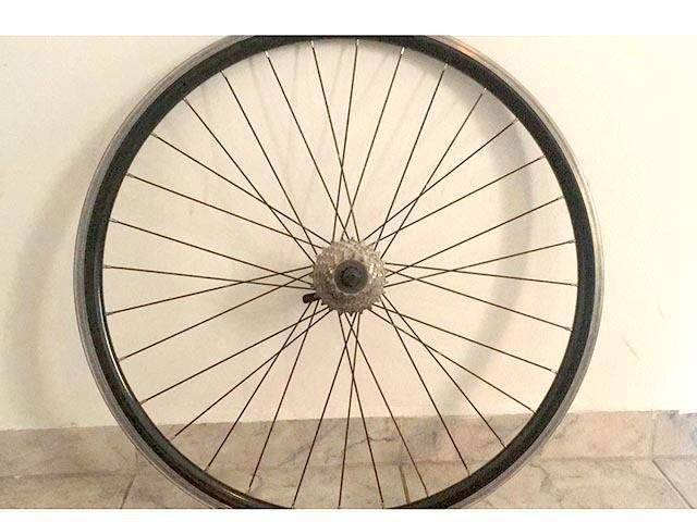 Roda traseira shimano