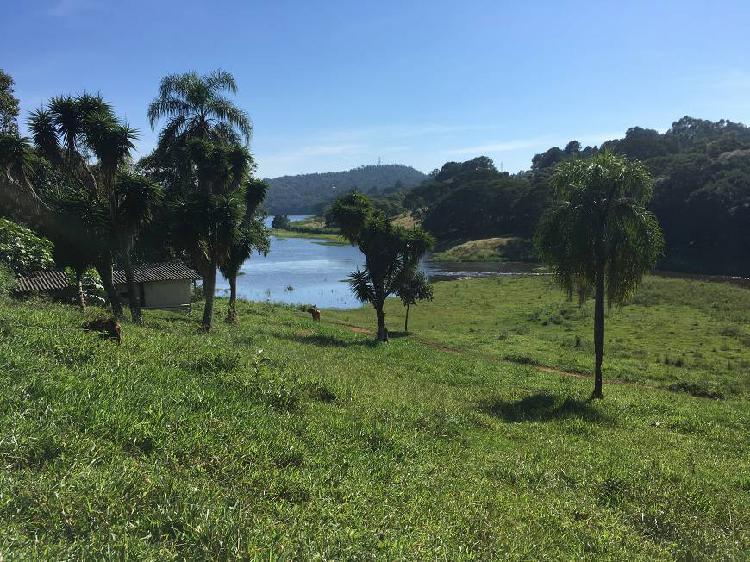 Rea na represa - venda - 34.000 m2 - cachoeira - ibiúna -