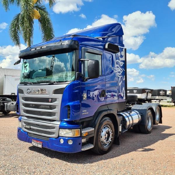 Caminhão scania r440 cavalo trucado 6x2 2013 - opticruise