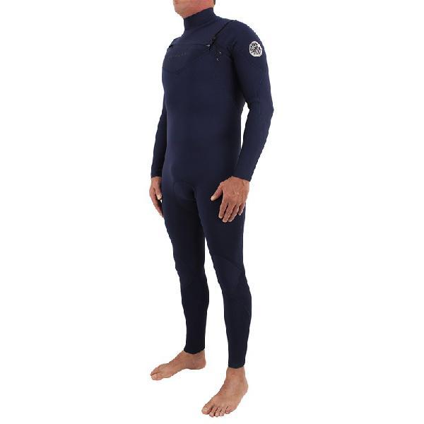 Long john rip curl dawn patrol 3/2mm chest zip navy - surf