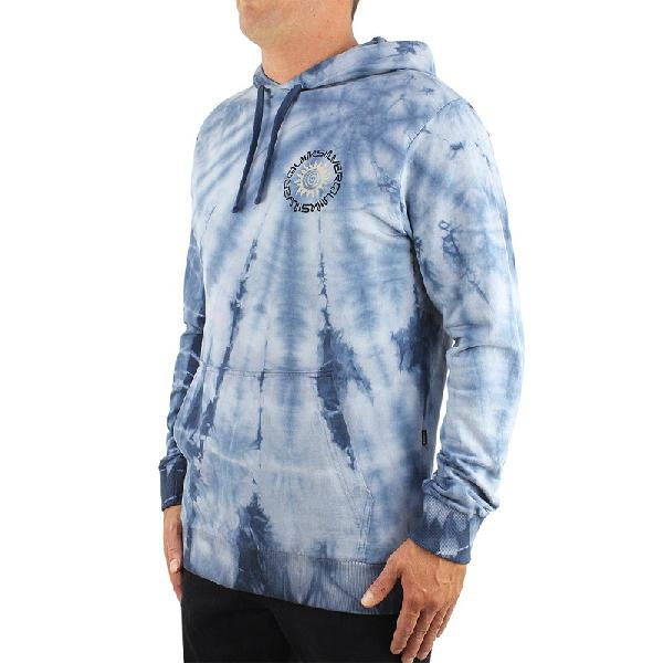 Moletom quiksilver mystic tie dye azul - surf alive