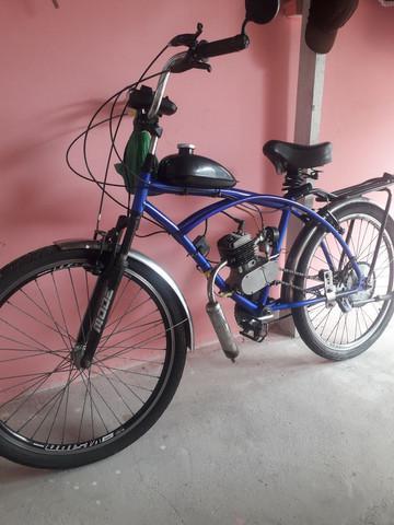 Bicicleta motorizada - excelente estado