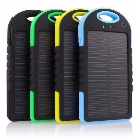 Imperdível carregador solar portátil