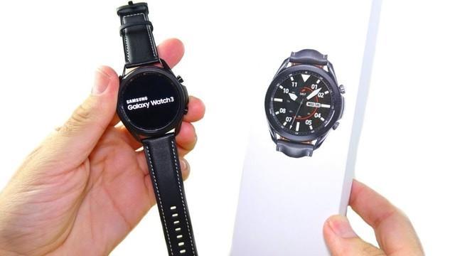 Smartwatch samsung galaxy watch 3 45mm bluetooth - novo