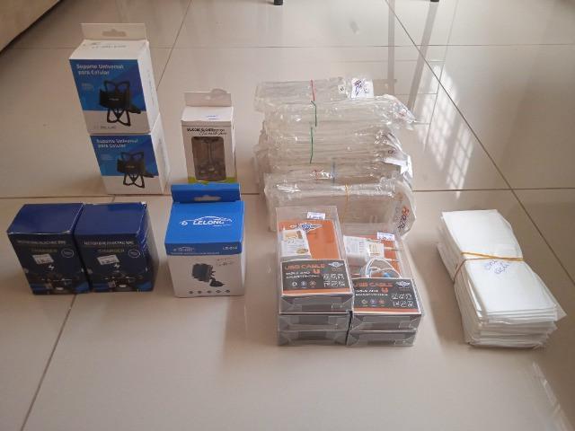 Vendo estoque de acessórios para celular c/ 84 itens