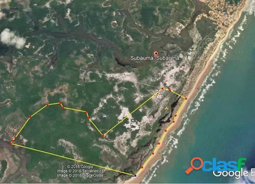Excelente terreno de 288,28 hectares em sabaúma - ba