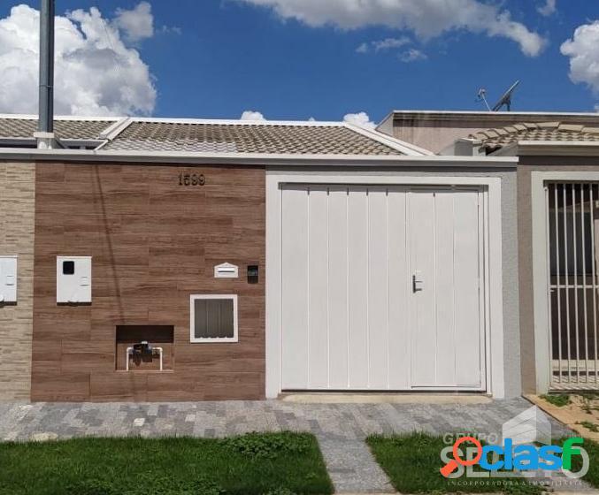 Casa no bairro parque real - 2 vagas de garagem