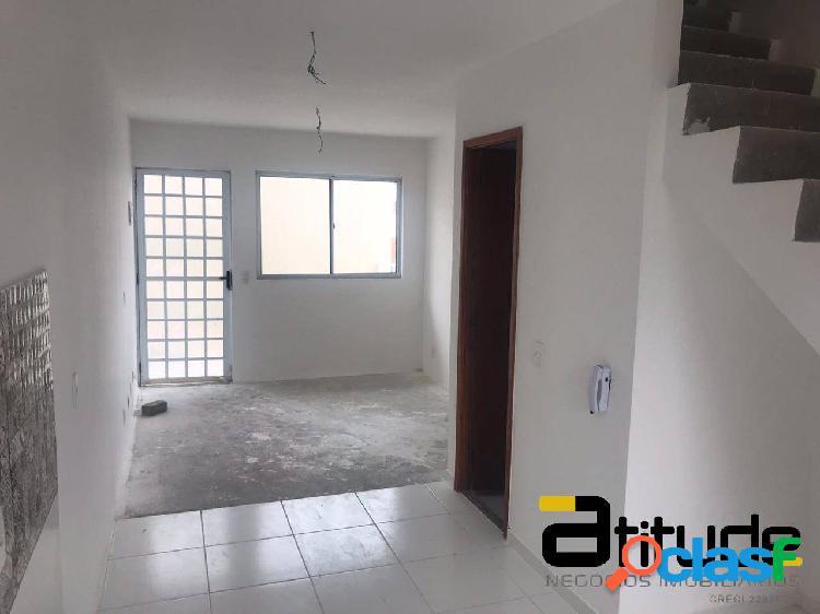 Casa dois dormitórios - cond.residencial vitaville em itapevi