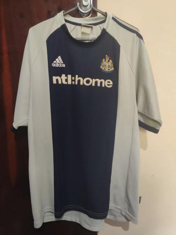 Camisa do newcastle oficial ii adidas 2002/2003