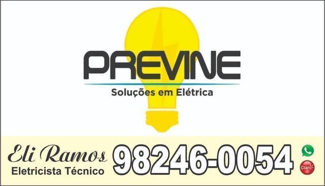 Eletricista técnico residencial, predial, comercial e
