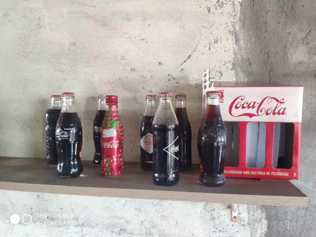 Garrafas de coca cola 225ml