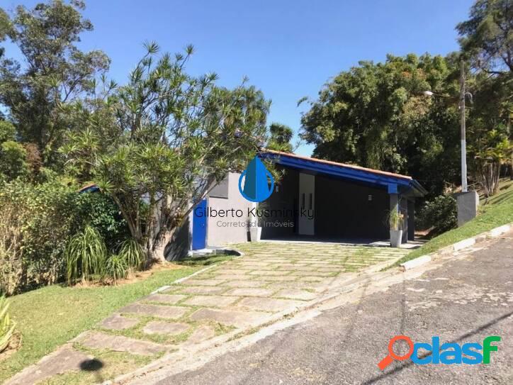 Casa à venda, 243 m² por r$ 1.300.000,00 - chácara pavoeiro - cotia/sp