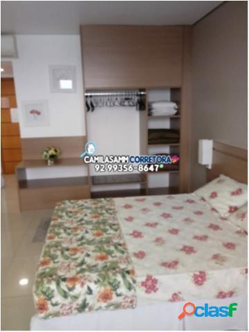 Flat millenium - flat com 1 dorms em manaus - chapada por 120 mil à venda