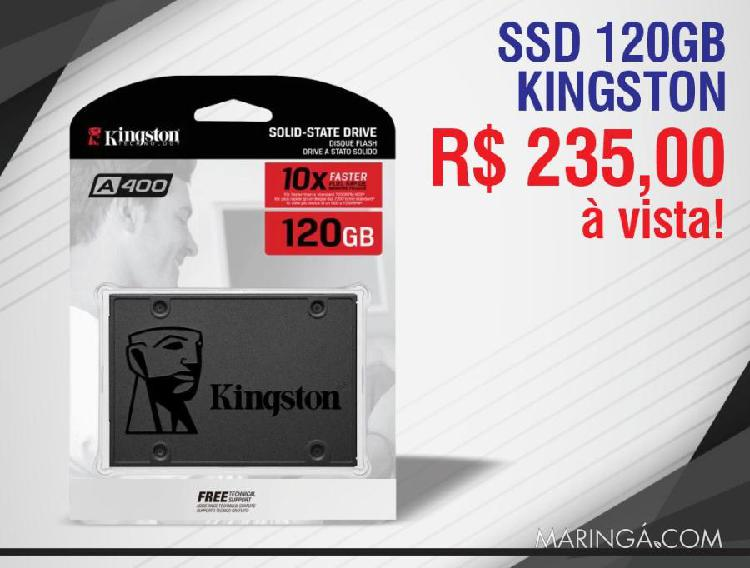 Hd ssd 120gb kingston a400