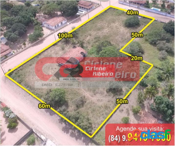 Terreno com 5000 m2 em macaíba - centro por 150 mil à venda