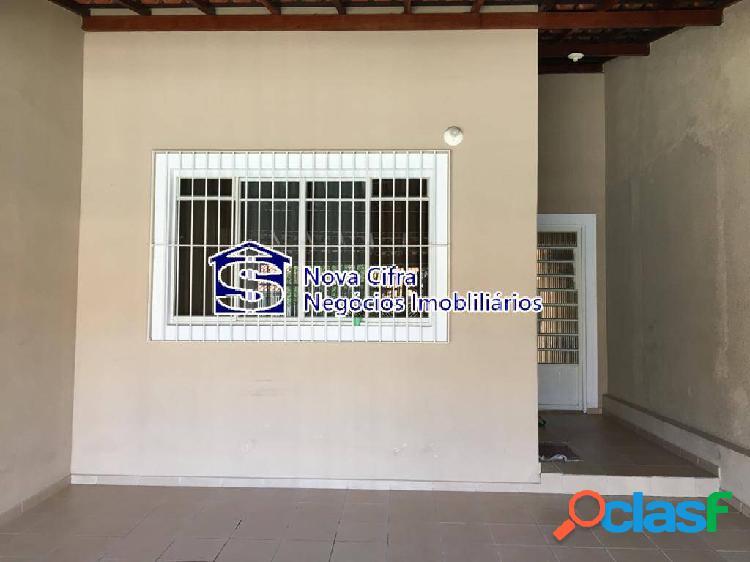 Casa térrea 02 dormitórios jd satélite 125 m²