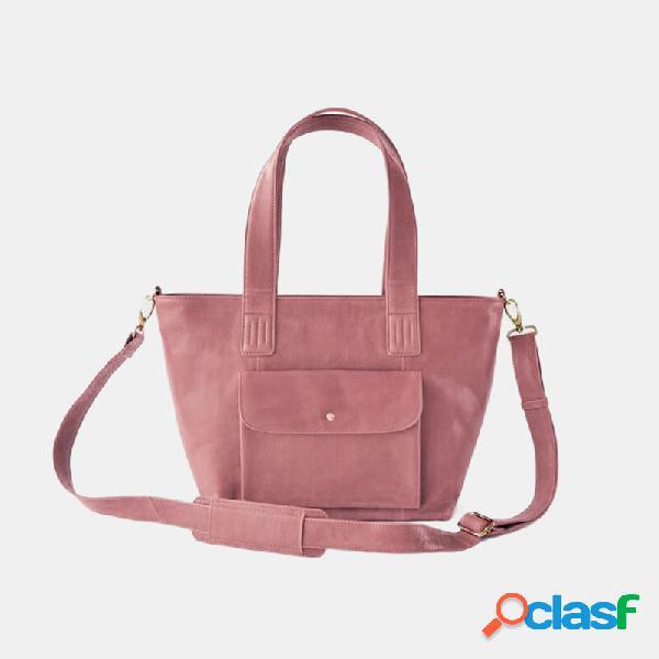 Porta-chaves feminina pu de grande capacidade para laptop bolsa bolsa crossbody bolsa bolsa