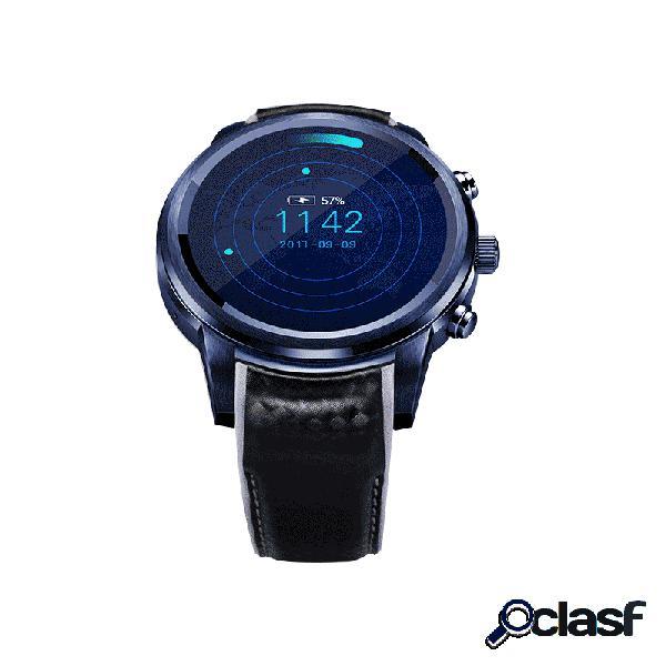 Lemfo lem5 pro 2g + 16g smartwatch multifuncional coração monitor de taxa de atividade wi-fi gps 3g utility sport watch