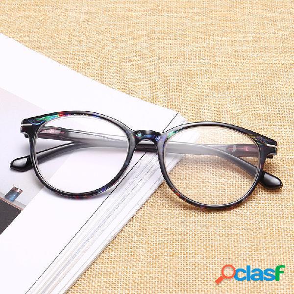 Óculos de olho de leitura óculos de armação de óculos de armação de óculos de armação redonda de hd vintage