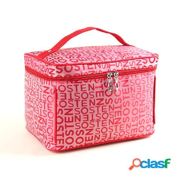 Kcasa kc-mb01 saco de cosméticos para mulheres bolsa de armazenamento de grande capacidade travel toiletry bags makeup b