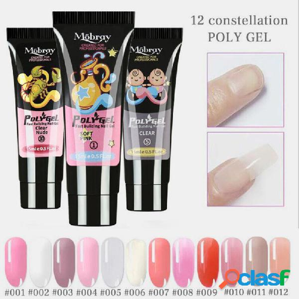 12 constellation unhas art quick dry gel led claro uv gel multicolor unhas gel fototerapia gel